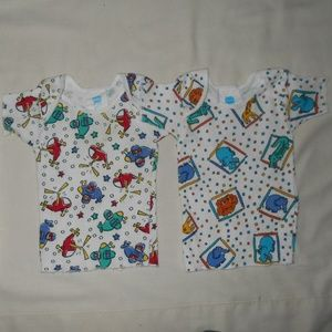 Vintage Infant Baby Pull-over Soft T-shirt